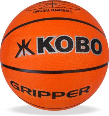 Kobo Gripper Basketball - Size: 7, Diameter: 24.5 cm(Pack of 1, Orange)