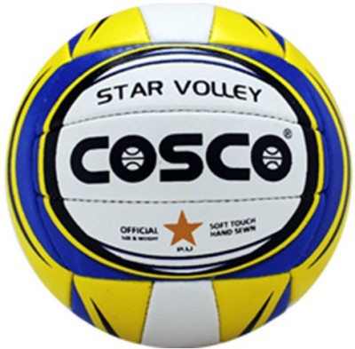 Cosco Star Volleyball - Size- 4, Diameter- 65 cm
