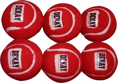 DEKAY RED Tennis Ball -   Size: 5,  Diameter: 2.5 cm