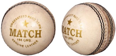 Priya Sports White Cric Cricket Ball -   Size: 5,  Diameter: 2.5 cm
