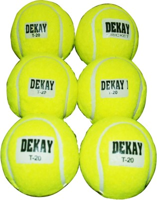 DEKAY GREEN Tennis Ball -   Size: 5,  Diameter: 2.5 cm