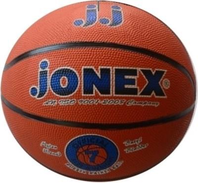 JJ Jonex HIGH QUALITY RUBBER NO.7 Basketball -   Size: 7,  Diameter: 26 cm