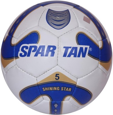 Spartan Shinning Star Football -   Size: 5,  Diameter: 2.5 cm
