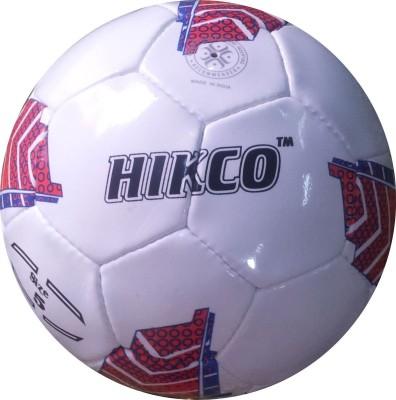 Hikco Red Kicker Football - Size: 5, Diameter: 22 cm(Pack of 1, White, Red, Black)