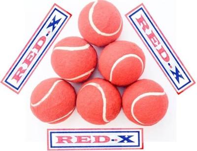 RED-X VICKEY Cricket Ball -   Size: 5,  Diameter: 2.5 cm