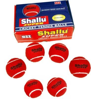 SII Shallu Super Cricket Ball -   Size: 6,  Diameter: 22 cm