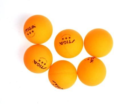 Surya Enterprises Pack of 6 Tennis Ball -   Size: NA,  Diameter: 2.5 cm