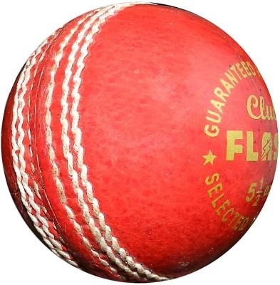 FLASH LEATHER CLUB Cricket Ball -   Size: 5,  Diameter: 7.3 cm