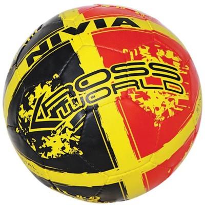 Nivia Kross World Football -   Size: 5,  Diameter: 22 cm