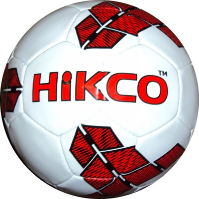 Hikco Striker Football - Size: 5, Diameter: 22 cm(Pack of 1, White, Red, Black)