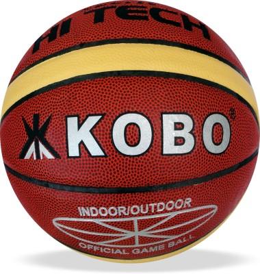Kobo Hi-Tech Basketball - Size- 7, Diameter- 24.5 cm