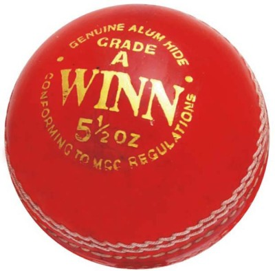 CW Winn Leather Cricket Ball -   Size: Full Size,  Diameter: 22 cm