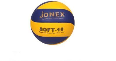 JJ Jonex SUPERIOR QUALITY SOFT-10 MOULDED Volleyball -   Size: 4,  Diameter: 20 cm