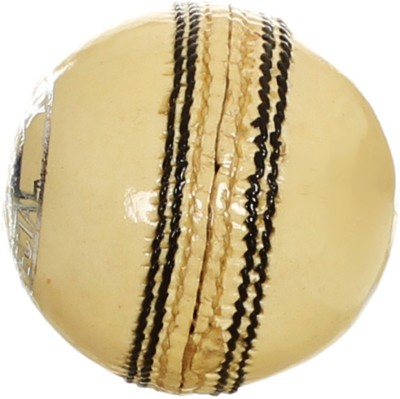AS Crown (White) Cricket Ball - Size- 2, Diameter- 7 cm