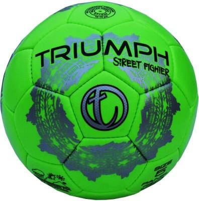 Triumph Street Fighter Green Football -   Size: 5,  Diameter: 2.5 cm