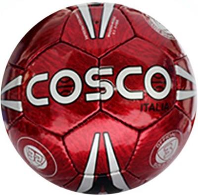 Cosco Italia Football - Size: 3, Diameter: 8.6 cm(Pack of 1, Red)