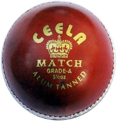 Ceela Match Cricket Ball - Size- Standard, Diameter- 7 cm
