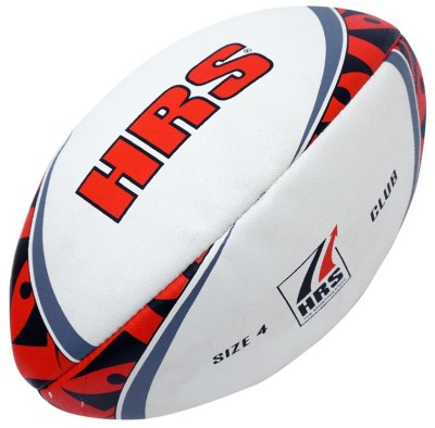 HRS Club Rugby Ball -   Size: 4,  Diameter: 22 cm