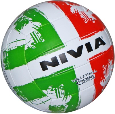 Nivia Kross World Volleyball - Size- 4, Diameter- 20.5 cm