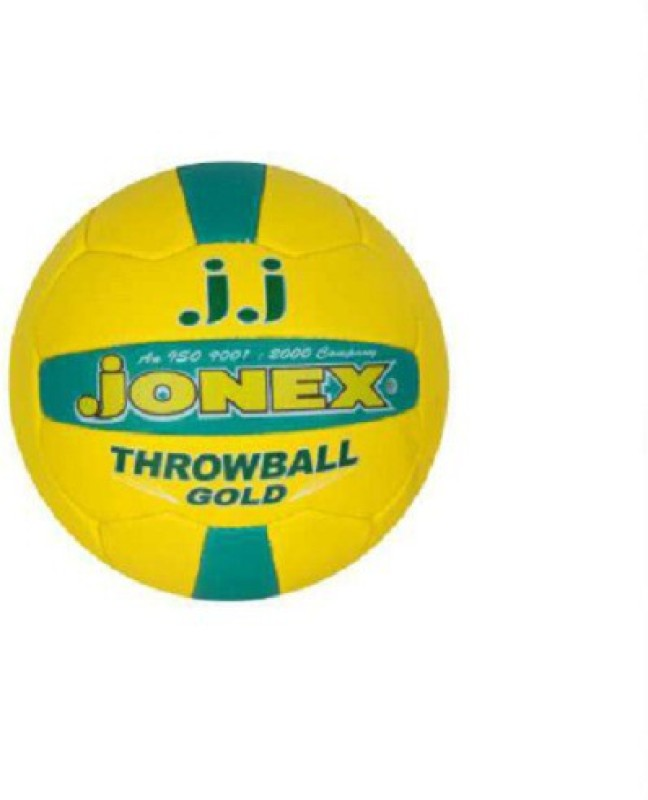 JJ Jonex GOLD Throw Ball -   Size: 5,  Diameter: 22 cm(Pack of 1, Multicolor)