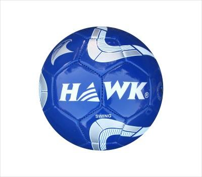 Hawk Swing Blue Football -   Size: 5,  Diameter: 21.6 cm