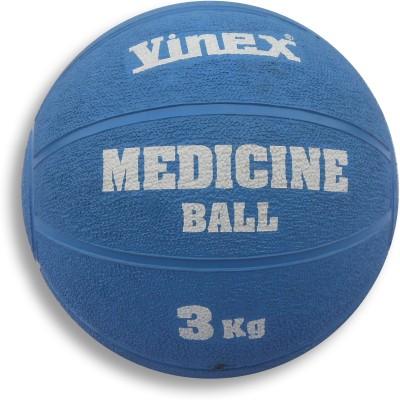 Vinex Rubber Medicine Ball -   Size: 3,  Diameter: 23 cm