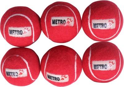 Metro Sports Pair of Six Tennis Ball -   Size: 5,  Diameter: 2.5 cm
