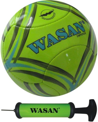 Wasan Emperor With Free Pump Football - Size: 5, Diameter: 70 cm(Pack of 1, Green)