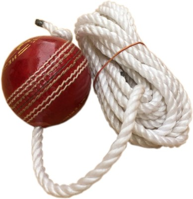 Sahni Sports Hanging Shot Practise Cricket Ball - Size- 6, Diameter- 6.5 cm