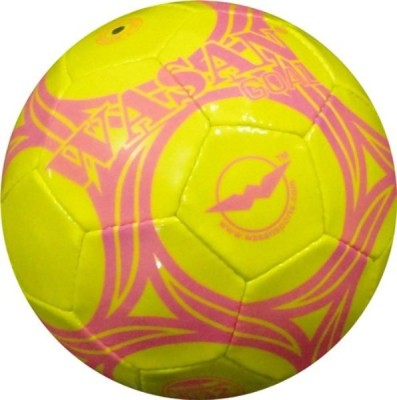 Wasan Goal Football - Size: 5, Diameter: 70 cm(Pack of 1, Pink)