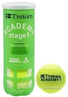 Cosco Tretorn Academy II Tennis Ball - Size- Standard, Diameter- 6.54 cm