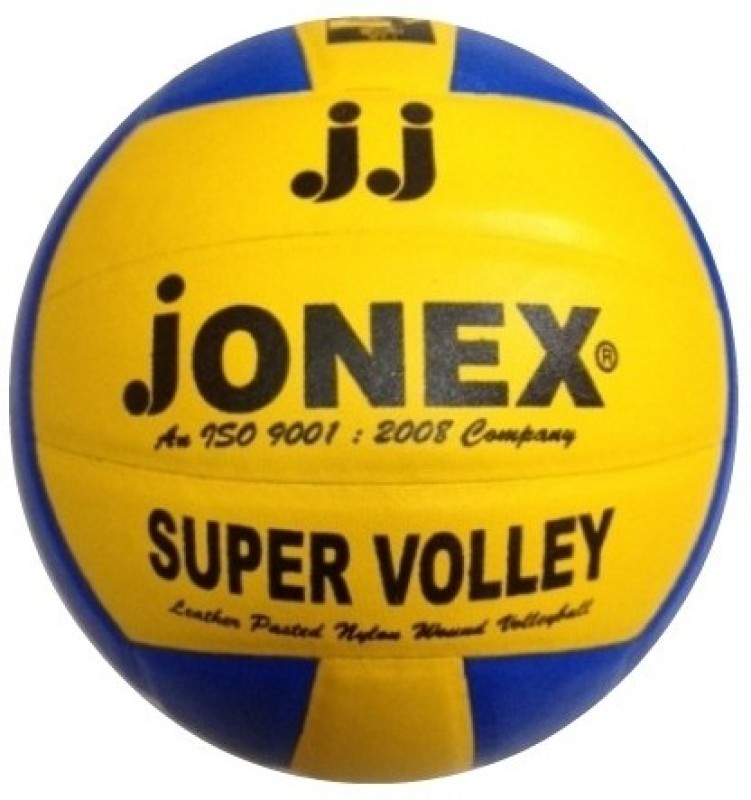 Jonex Super Volley Volleyball -   Size: 4(Blue, Yellow)