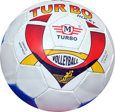 TURBO ROCKY (DOUBLE COLOUR) Volleyball -   Size: 4,  Diameter: 68.5 cm