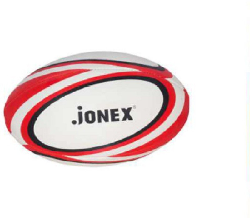 JJ Jonex HIGH QUALITY Rugby Ball -   Size: 5,  Diameter: 27 cm(Pack of 1, Multicolor)