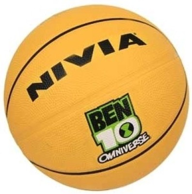 Nivia BEN10 Omniverse Basketball -  Size: 7(Yellow)