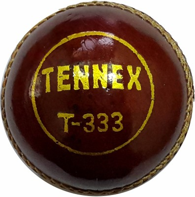 Tennex Leather T-333 Cricket Ball -   Size: Standard,  Diameter: 7 cms
