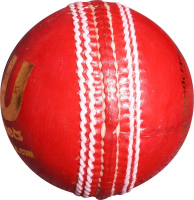 THREE WICKETS JAGUAR Cricket Ball -   Size: Full,  Diameter: 7.2 cm