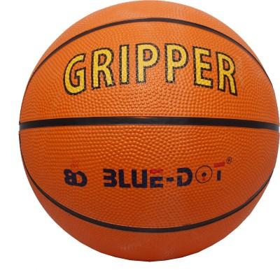 Blue Dot Gripper Basketball -   Size: 7,  Diameter: 22 cm
