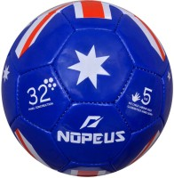 NOPEUS BLUE RED WHITE FLAG SYNTHETIC Football -   Size: 5,  Diameter: 20 cm(Pack of 1, Blue, Red, White) best price on Flipkart @ Rs. 405