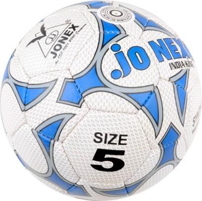JJ Jonex India King Football -   Size: 5,  Diameter: 22 cm