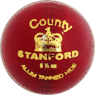 SF County Leather Cricket Ball -   Size: 5.1/2,  Diameter: 1.5 cm