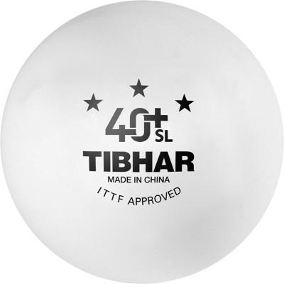 Tibhar 40+ SL Seamless Poly Ping Pong Ball - Size: 4, Diameter: 4.01 cm(Pack of 3, White)