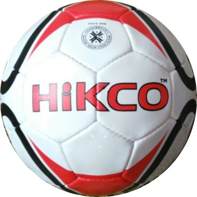 Hikco Heart Football - Size: 5, Diameter: 22 cm(Pack of 1, Multicolor)