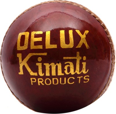 Kimati Deluxe Cricket Ball -   Size: NA,  Diameter: 6.5-6.75 cm