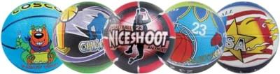 Cosco Multi Graphics Basketball - Size- 3