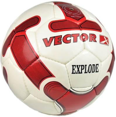 Vector X Explode Football - Size: 5, Diameter: 2.5 cm(Pack of 1, White, Maroon)