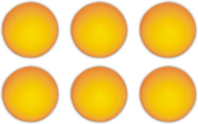 ball prtc Ping Pong Ball - Size: 4, Diameter: 4.0 cm(Pack of 6, Yellow)
