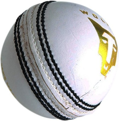 Wolfer Supreme County White Leather Cricket Ball -   Size: 6,  Diameter: 7.25 cm