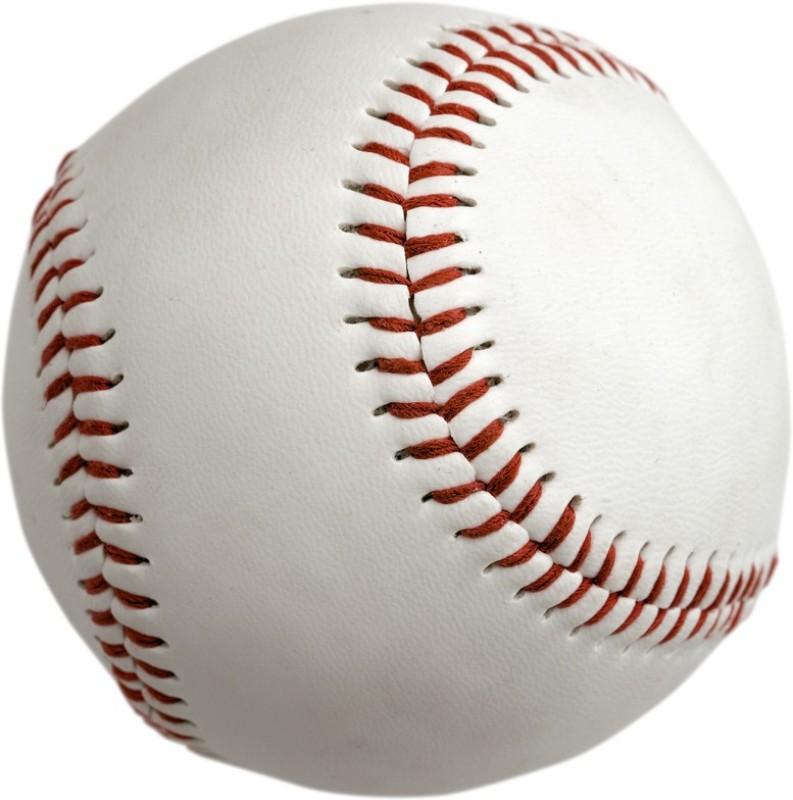 Tima BBWHT Baseball -   Size: 6,  Diameter: 2.5 cm(Pack of 1, White\\Red)