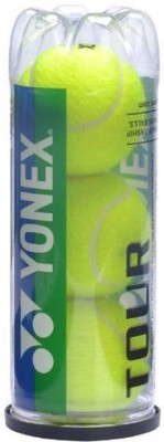 Yonex tour (pack of 3) Tennis Ball - Size- 5, Diameter- 6.54 cm